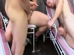 Male homemade masturbation toys balloon gay first time Fisting Orgy an