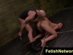 fetishnetwork mena li rides the sybian