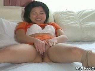 Hiroko Morita is an enthusiastic nympho and she loves reverse cowgirl