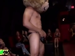 Lucky guy pleased by horny girls