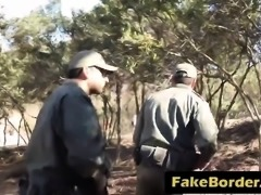 Border Patrol fucks up couple's day in more ways than one