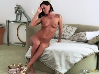 The queen of fucking is drilled nice-looking hard this time