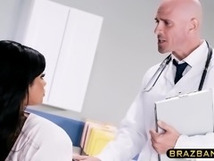 Doctor cures huge tits latina patient who could not orgasm