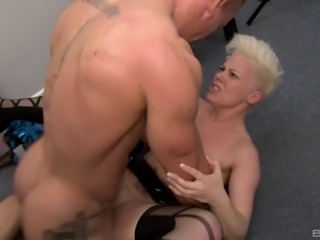 Blonde MILF Bree Branning wants to feel an erected penis