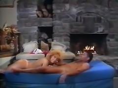 Hotand naughty lean blondie having nice FMM threesome