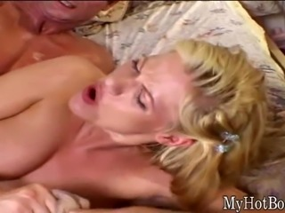 Roxetta is a gorgeous, blonde haired milf, who will be sitting on her couch