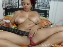 Sophisticated Huge-Boobed Curvy Hottie Amazing Cam Show