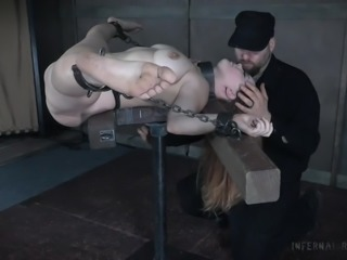 Gotta love sexy lady that loves being chained and used. Enter the Infernal Restraints and enjoy watching our lovely Summer Hart, getting chained and her pussy fucked with a vibrator. She is very submissive and will beg for more. Would you love to be her master?! Join us and fulfill your desires!