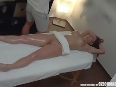After her massage, she was feeling so relaxed... and so horny! She decided to...
