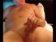 grandfather cum on cam