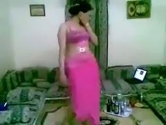 My vulgar oriental wife is dancing and teasing me