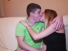 Young cute real british amateur couple suck and fuck