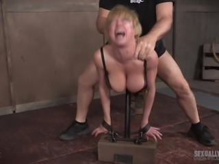 Dee Williams is a stunning lady. She is pretty and has amazing curves. Just look at those big tits and that alluring ass. She is very submissive and loves being dominated hard. Join us and watch Dee get all her holes penetrated hard by two guys with big cocks.