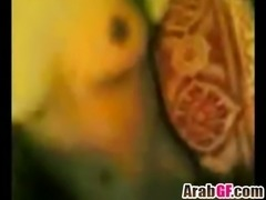 Arab girlfriend gives head and pounded boyfriend