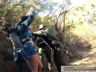 Hot blondes nurses big tit Mexican border patrol agent has h