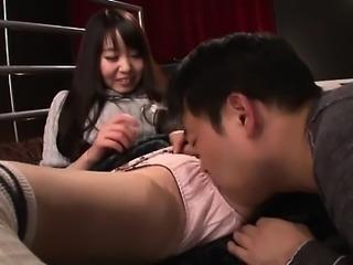 Asian teen hot threesome hairy