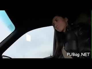 Arresting shlong sucking