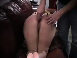 Noa gets spanking lesson