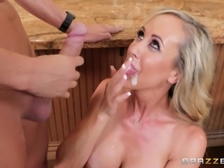 Brandi Love is a busty housewife who is ready for a dick