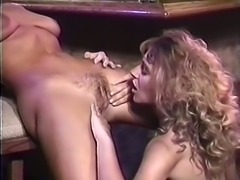 Gorgeous white vintage bitches pleasuring each other orally