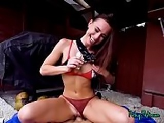 Teen Aidra Fox Gets Paid For Getting Fucked