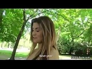 Cutie amateur european slut seduces tourist dor a street blowjob 08