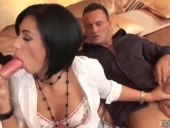 Cassye is no stranger to double penetration