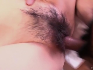 Asian babe pleasured using toy then taking shower