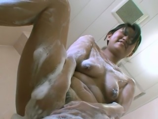 Lewd slut Misa Shibata always takes a shower before giving her lover a BJ
