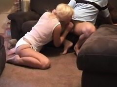 Blonde Doggystyle Fuck And Cumshot Facial In Public