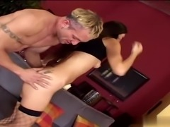 Alicia Angel finds herself in a familiar position parked between two guys