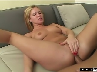 Gaping nice ass blonde anal drilled hardcore doggystyle