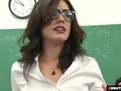 Teacher services her class