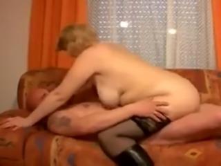 Norwegian mature blonde in hardcore fuck