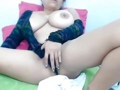 KL Tittie play and masturbation