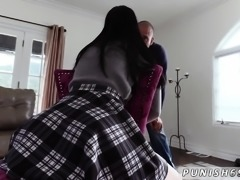 Spanking while fucking and scissoring dirty talk You