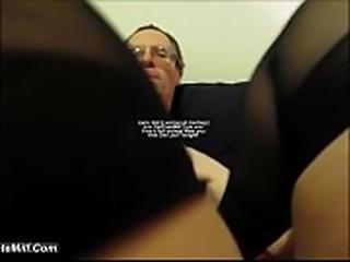 Hotel Blonde Slut Stocking Feet Licked