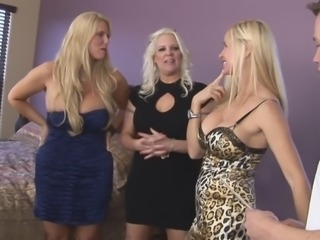 I have spilled so much jizz to this hardcore orgy with hot MILFs