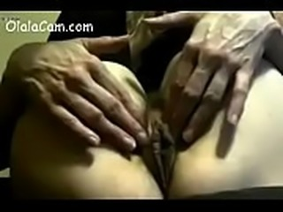 The huggest and dark pussy milf touch herself