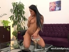 Hot gal Lexi Dona loves bathing in her own piss for your viewing pleasure