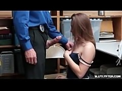 Hayden bangs the officer and sets her free