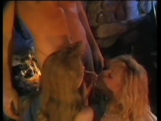Brittany O Connell and her friend ride a hunk's hard dick
