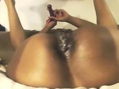 Ebony Black Couple Webcam Fucking