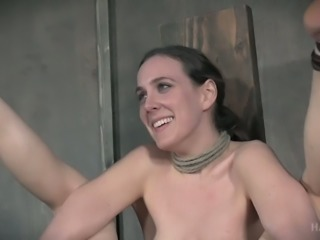 Horny chick Sierra Cirque is ready for punishment and she will be whipped hard