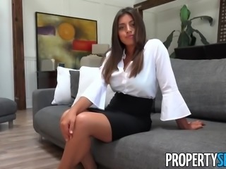 PropertySex - Busty new agent impresses potential client