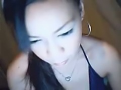 I chat with pretty Asian chick and she gets undressed