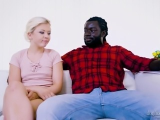 Huge black tool is all pale blonde Anna Ray wants in her cunt