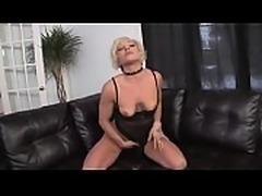 Tattooed blonde opens her legs for some dildo play - crazyamateurgirls.com