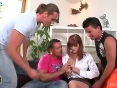 New neighbors are allowed to pound slutty bootyful ginger wifey (FMMM)