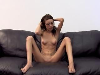 Skinny Vivian cock riding hardcore in reality scene
